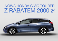 Honda Civic Tourer - Rabat 2 000 PLN