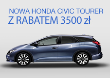 Honda Civic Tourer <br/>z rabatem 3 500 PLN