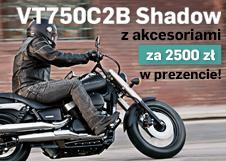 Honda VT750C2B z akcesoriami za 2500 zł w prezencie!