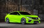 Honda prezentuje model Civic Concept  podczas New York International Auto Show