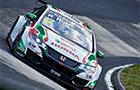 Honda dwukrotnie na podium WTCC w Niemczech
