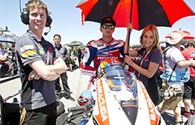 Hayden i Honda na podium World Superbike na Laguna Seca
