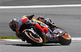 Marquez piąty w Austrii