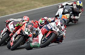 Hayden i Honda na podium WorldSBK w Lausitz