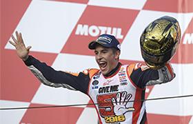 Marc Marquez mistrzem MotoGP!