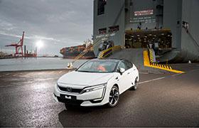 Pierwsze egzemplarze Hondy Clarity Fuel Cell w Europie