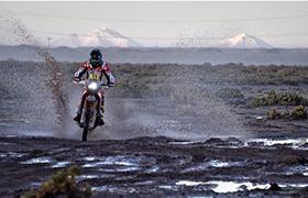 Joan Barreda wygrywa trudny ósmy etap