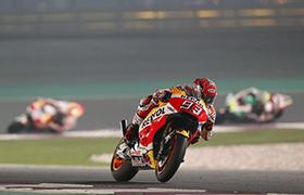 Marquez i Pedrosa tuż za podium w Katarze