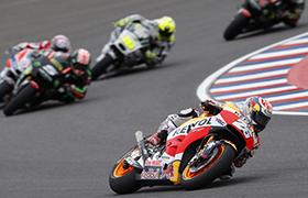 Crutchlow i Honda na podium MotoGP w Argentynie