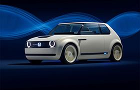 Honda Urban EV Concept we Frankfurcie