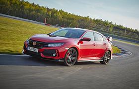 Honda Civic Type R zdobywa nagrodę magazynu