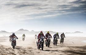 Benavides wciąż w czołówce Dakaru po czwartym etapie