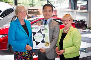 Honda Civic zwycięża wplebiscycie na Światowy Kobiecy Samochód Roku 2012