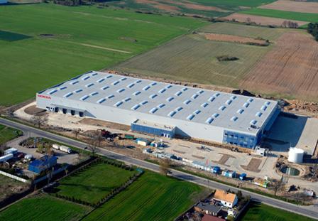 Honda otwiera nowe centrum logistyczne wPniewach
