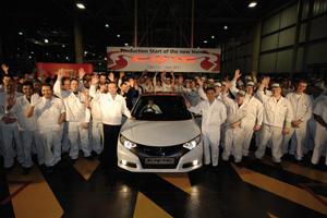 Rozpoczęcie produkcji Nowego Civica
