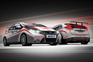 Honda Civic w WTCC