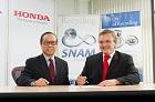 Honda podpisuje porozumienie z firmą SNAM
