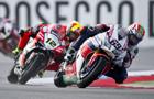 Honda dwukrotnie na podium World Superbike w Assen