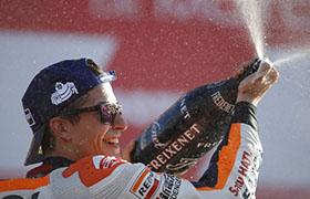 Marquez drugi w Walencji, Honda mistrzem producentów