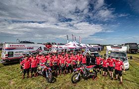 Motocykliści Hondy gotowi na Rajd Dakar 2017