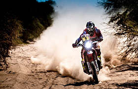 Trudny dzień dla motocyklistów Monster Energy Honda Team w Boliwii