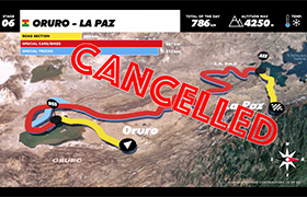 Najdłuższy etap Dakaru odwołany