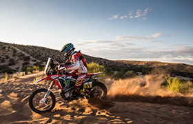 Ekipa Monster Energy Honda Team moralnymi zwycięzcami Rajdu Dakar 2017