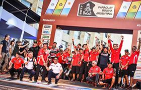 Monster Energy Honda Team wraca z Rajdu Dakar