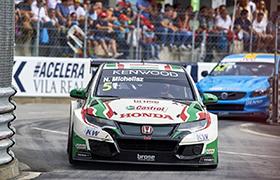 Honda prowadzi w WTCC po wygranej w Portugalii