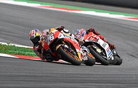 Szóste podwójne podium Repsol Hondy w MotoGP w tym sezonie