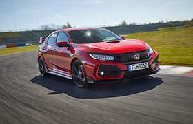 "Civic Type R ""Samochodem Roku"" magazynu BBC TopGear"