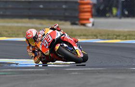 Marquez i Honda wygrywają w MotoGP we Francji