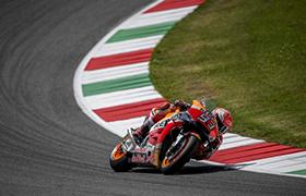Trudne Grand Prix Włoch na motocyklistów Hondy