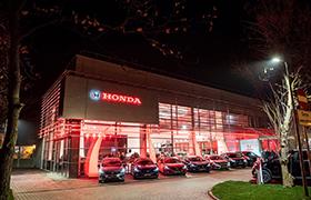 Nowa Honda CR-V w nowym obiekcie dealerskim