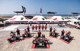 Motocykliści Hondy rozpoczynają Dakar!