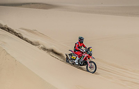 Brabec i Barreda w czołówce drugiego etapu Dakaru