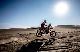 Brabec wraca prowadzenie w Rajdzie Dakar